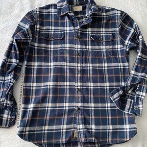 Jachs Blue Flannel Top